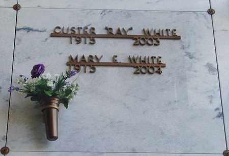 WHITE, MARY ELIZABETH - Polk County, Oregon   MARY ELIZABETH WHITE - Oregon Gravestone Photos
