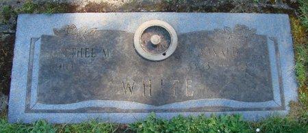 WHITE, ETHEL M - Polk County, Oregon | ETHEL M WHITE - Oregon Gravestone Photos