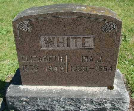 WHITE, ELIZABETH JANE - Polk County, Oregon | ELIZABETH JANE WHITE - Oregon Gravestone Photos