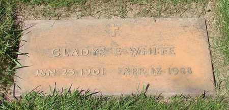 WHITE, GLADYS E - Polk County, Oregon | GLADYS E WHITE - Oregon Gravestone Photos