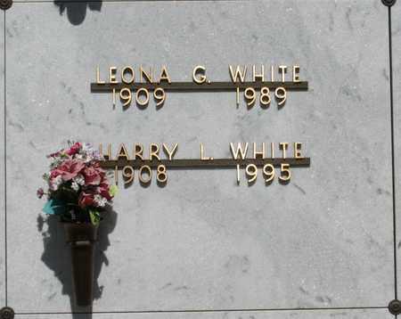 WHITE, LEONA GRACE - Polk County, Oregon | LEONA GRACE WHITE - Oregon Gravestone Photos