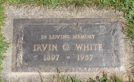 WHITE, IRVIN O - Polk County, Oregon | IRVIN O WHITE - Oregon Gravestone Photos