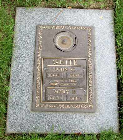 WHITE, MARY H - Polk County, Oregon | MARY H WHITE - Oregon Gravestone Photos