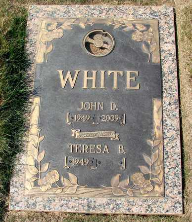 WHITE, TERESA B - Polk County, Oregon | TERESA B WHITE - Oregon Gravestone Photos