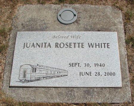 WHITE, JUANITA ROSETTE - Polk County, Oregon | JUANITA ROSETTE WHITE - Oregon Gravestone Photos