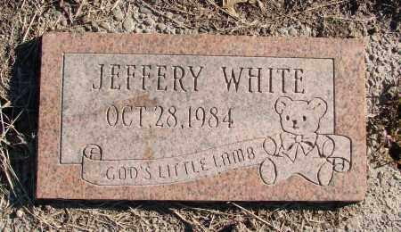 WHITE, JEFFERY - Polk County, Oregon   JEFFERY WHITE - Oregon Gravestone Photos