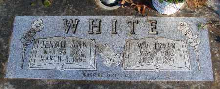 WHITE, JENNIE ANN - Polk County, Oregon | JENNIE ANN WHITE - Oregon Gravestone Photos