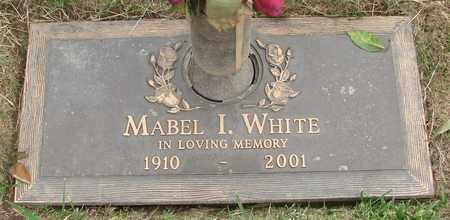WHITE, MABEL I - Polk County, Oregon | MABEL I WHITE - Oregon Gravestone Photos