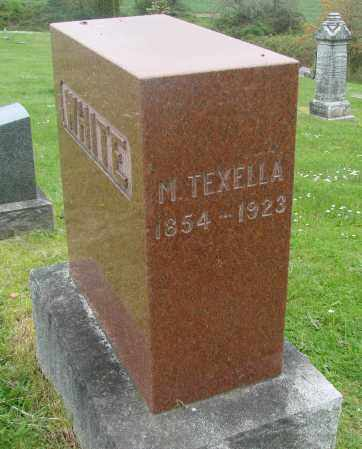 WHITE, M TEXELLA - Polk County, Oregon   M TEXELLA WHITE - Oregon Gravestone Photos