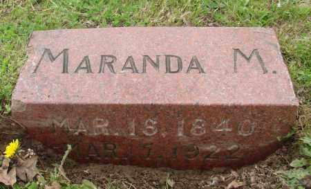 WHITE, MARANDA M - Polk County, Oregon | MARANDA M WHITE - Oregon Gravestone Photos