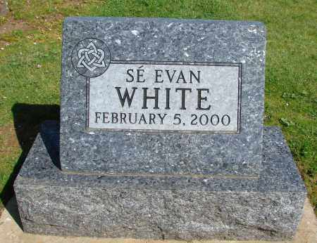 WHITE, SE EVAN - Polk County, Oregon | SE EVAN WHITE - Oregon Gravestone Photos