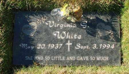 WHITE, VIRGINIA GRETCHEN - Polk County, Oregon | VIRGINIA GRETCHEN WHITE - Oregon Gravestone Photos