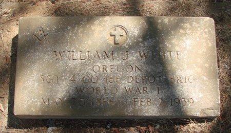 WHITE, WILLIAM J - Polk County, Oregon | WILLIAM J WHITE - Oregon Gravestone Photos