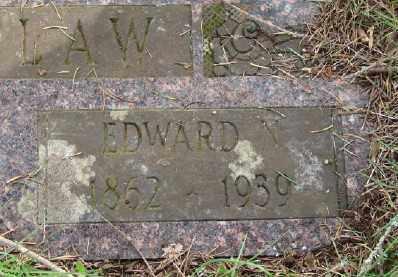 WHITLAW, EDWARD NATHANIEL - Polk County, Oregon | EDWARD NATHANIEL WHITLAW - Oregon Gravestone Photos