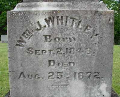WHITLEY, WILLIAM J - Polk County, Oregon | WILLIAM J WHITLEY - Oregon Gravestone Photos