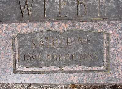 WIEBE, KATHERINA - Polk County, Oregon | KATHERINA WIEBE - Oregon Gravestone Photos