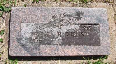 WIENSZ, AGNES H - Polk County, Oregon | AGNES H WIENSZ - Oregon Gravestone Photos