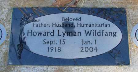 WILDFANG, HOWARD LYMAN - Polk County, Oregon   HOWARD LYMAN WILDFANG - Oregon Gravestone Photos