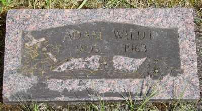 WILDT, ADAM - Polk County, Oregon   ADAM WILDT - Oregon Gravestone Photos