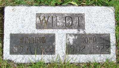 WILDT, WILLIAM - Polk County, Oregon | WILLIAM WILDT - Oregon Gravestone Photos
