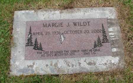 WILDT, MARGIE J - Polk County, Oregon | MARGIE J WILDT - Oregon Gravestone Photos