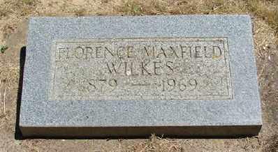 MAXFIELD WILKES, FLORENCE - Polk County, Oregon | FLORENCE MAXFIELD WILKES - Oregon Gravestone Photos