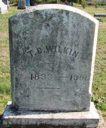 WILKIN, THOMAS C - Polk County, Oregon   THOMAS C WILKIN - Oregon Gravestone Photos