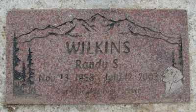 WILKINS, RANDY S - Polk County, Oregon | RANDY S WILKINS - Oregon Gravestone Photos