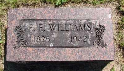 WILLIAMS, E E - Polk County, Oregon   E E WILLIAMS - Oregon Gravestone Photos