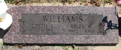 WILLIAMS, RILEY C - Polk County, Oregon   RILEY C WILLIAMS - Oregon Gravestone Photos