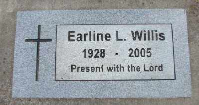 WILLIS, EARLINE L - Polk County, Oregon | EARLINE L WILLIS - Oregon Gravestone Photos