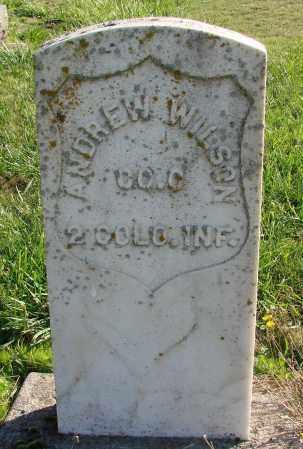 WILSON (CW), ANDREW - Polk County, Oregon   ANDREW WILSON (CW) - Oregon Gravestone Photos