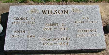 WILSON, ALBERT D - Polk County, Oregon | ALBERT D WILSON - Oregon Gravestone Photos
