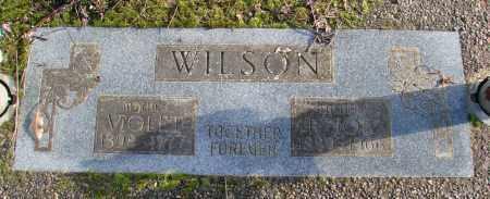 WILSON, VIOLET - Polk County, Oregon | VIOLET WILSON - Oregon Gravestone Photos