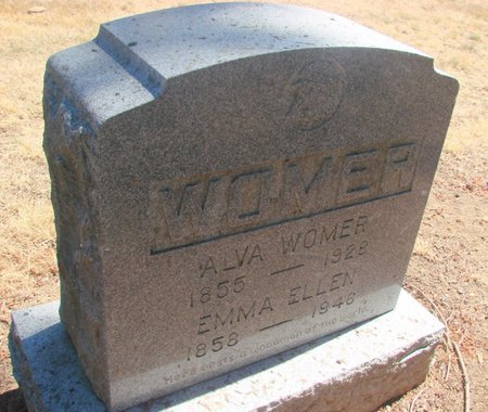 WOMER, ALVA - Polk County, Oregon | ALVA WOMER - Oregon Gravestone Photos