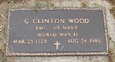 WOOD (WWII), GAIL CLINTON - Polk County, Oregon | GAIL CLINTON WOOD (WWII) - Oregon Gravestone Photos