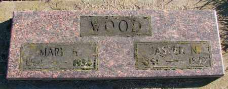 WOOD, MARY K - Polk County, Oregon | MARY K WOOD - Oregon Gravestone Photos