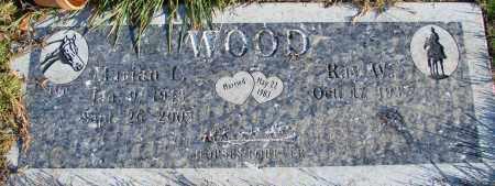 WOOD, RAYMOND - Polk County, Oregon | RAYMOND WOOD - Oregon Gravestone Photos