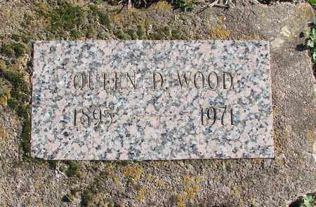 WOOD, QUEEN D - Polk County, Oregon | QUEEN D WOOD - Oregon Gravestone Photos