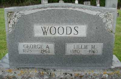 WOODS, LILLIE M - Polk County, Oregon | LILLIE M WOODS - Oregon Gravestone Photos