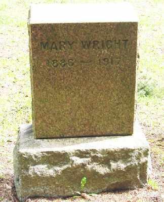 WRIGHT, MARY - Polk County, Oregon | MARY WRIGHT - Oregon Gravestone Photos