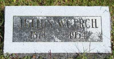 WUERCH, JULIUS - Polk County, Oregon   JULIUS WUERCH - Oregon Gravestone Photos