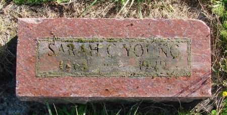 YOUNG, SARAH C - Polk County, Oregon | SARAH C YOUNG - Oregon Gravestone Photos