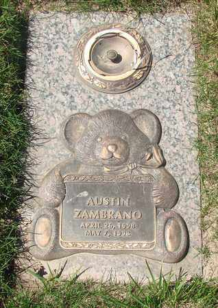 ZAMBRANO, AUSTIN - Polk County, Oregon | AUSTIN ZAMBRANO - Oregon Gravestone Photos