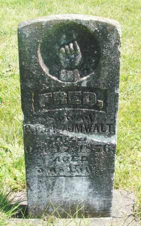 ZUMWALT, FRED - Polk County, Oregon | FRED ZUMWALT - Oregon Gravestone Photos