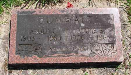 ZUMWALT, MARIE B - Polk County, Oregon | MARIE B ZUMWALT - Oregon Gravestone Photos