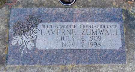 ZUMWALT, LAVERNE - Polk County, Oregon   LAVERNE ZUMWALT - Oregon Gravestone Photos