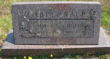 ABPLANALP, MELCHIOR - Tillamook County, Oregon | MELCHIOR ABPLANALP - Oregon Gravestone Photos