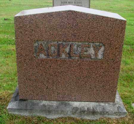ACKLEY, LORENZO DOW - Tillamook County, Oregon | LORENZO DOW ACKLEY - Oregon Gravestone Photos