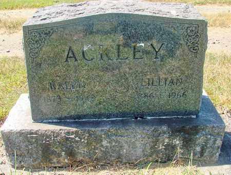 ACKLEY, LILLIAN M - Tillamook County, Oregon | LILLIAN M ACKLEY - Oregon Gravestone Photos